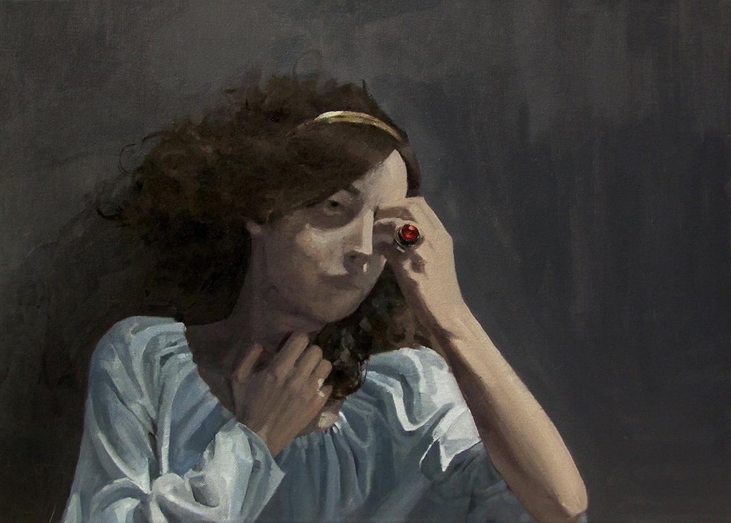 Maria Danielak paintings / www.niezlasztuka.net
