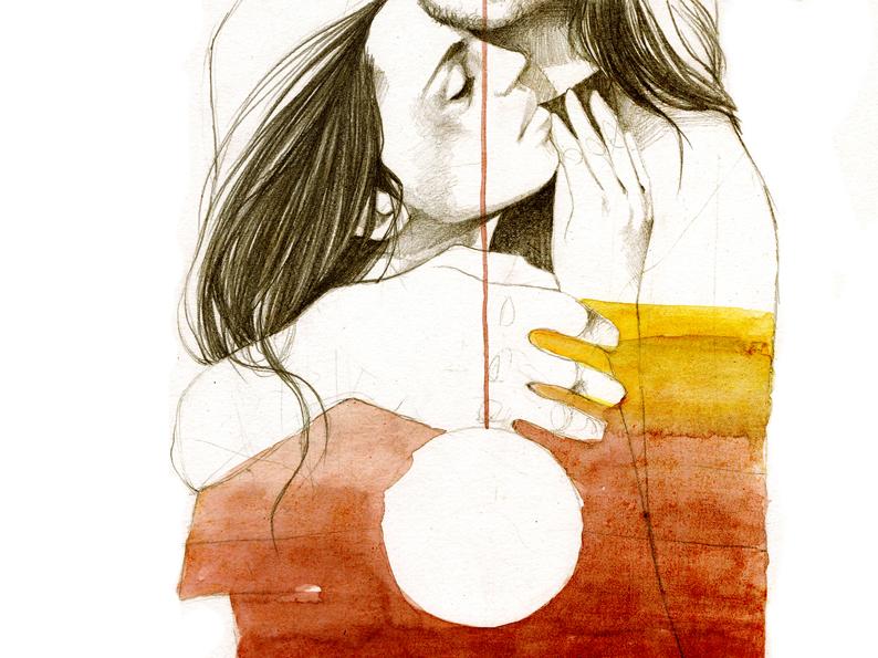 Elia Fernández ilustracje rysunek sztuka / www.niezlasztuka.net