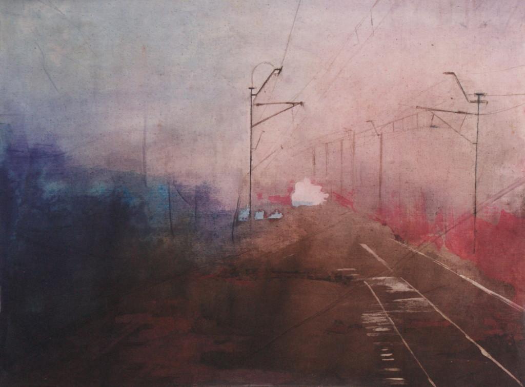 Marta Zamarska oil paintings batiks young artist landscape www.niezlasztuka.net