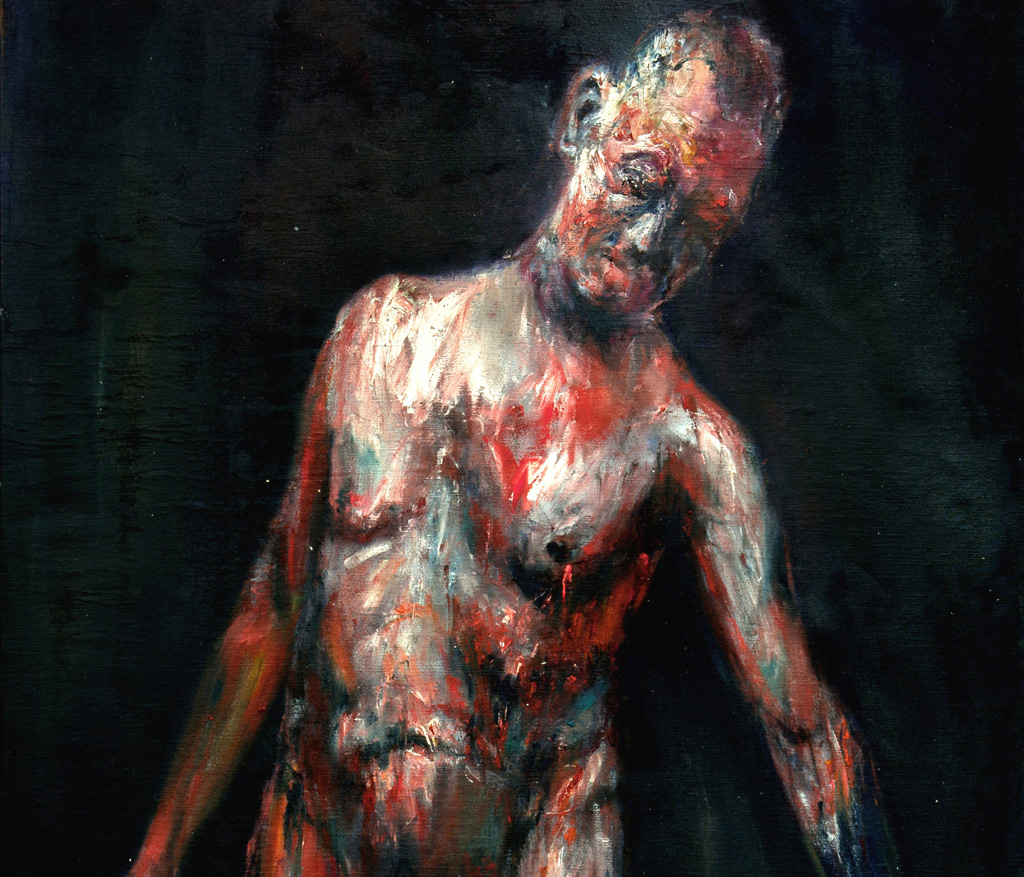Lukasz Wodynski  paintings live act sztuka niezlasztuka.net