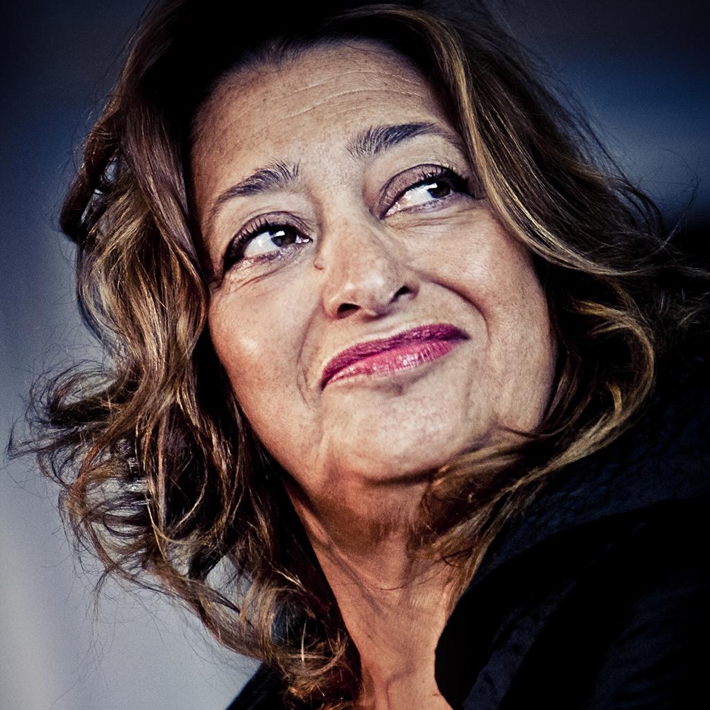 Zaha Hadid by Simone Cecchetti