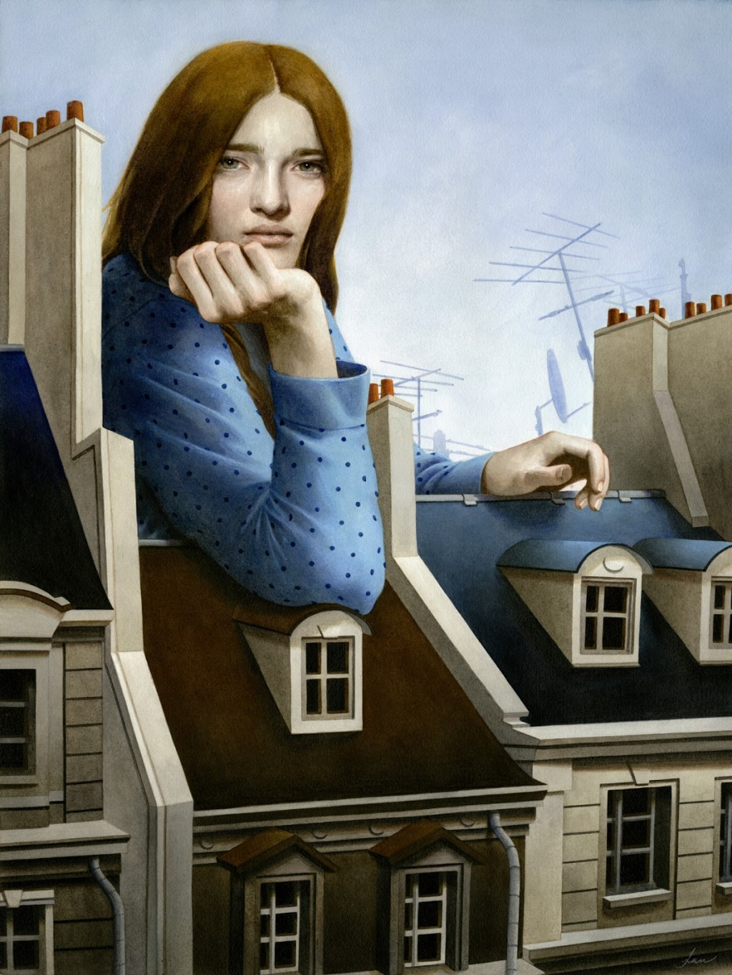 Tran Nguyen  Our Rooftop Remembrances